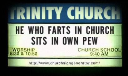 Fart_church_sign
